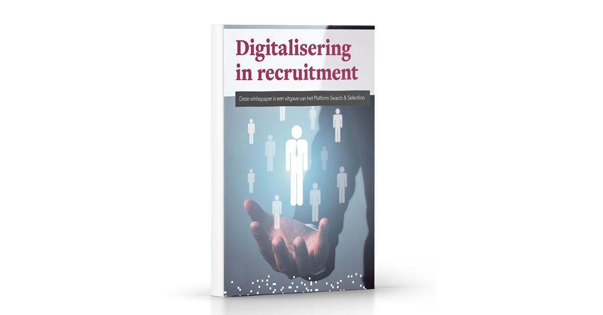 Digitalisering in Recruiment Mockup LinkedIn