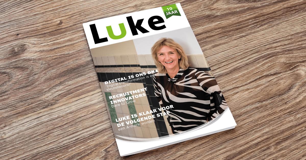 Luke Recruitment bestaat 10 jaar